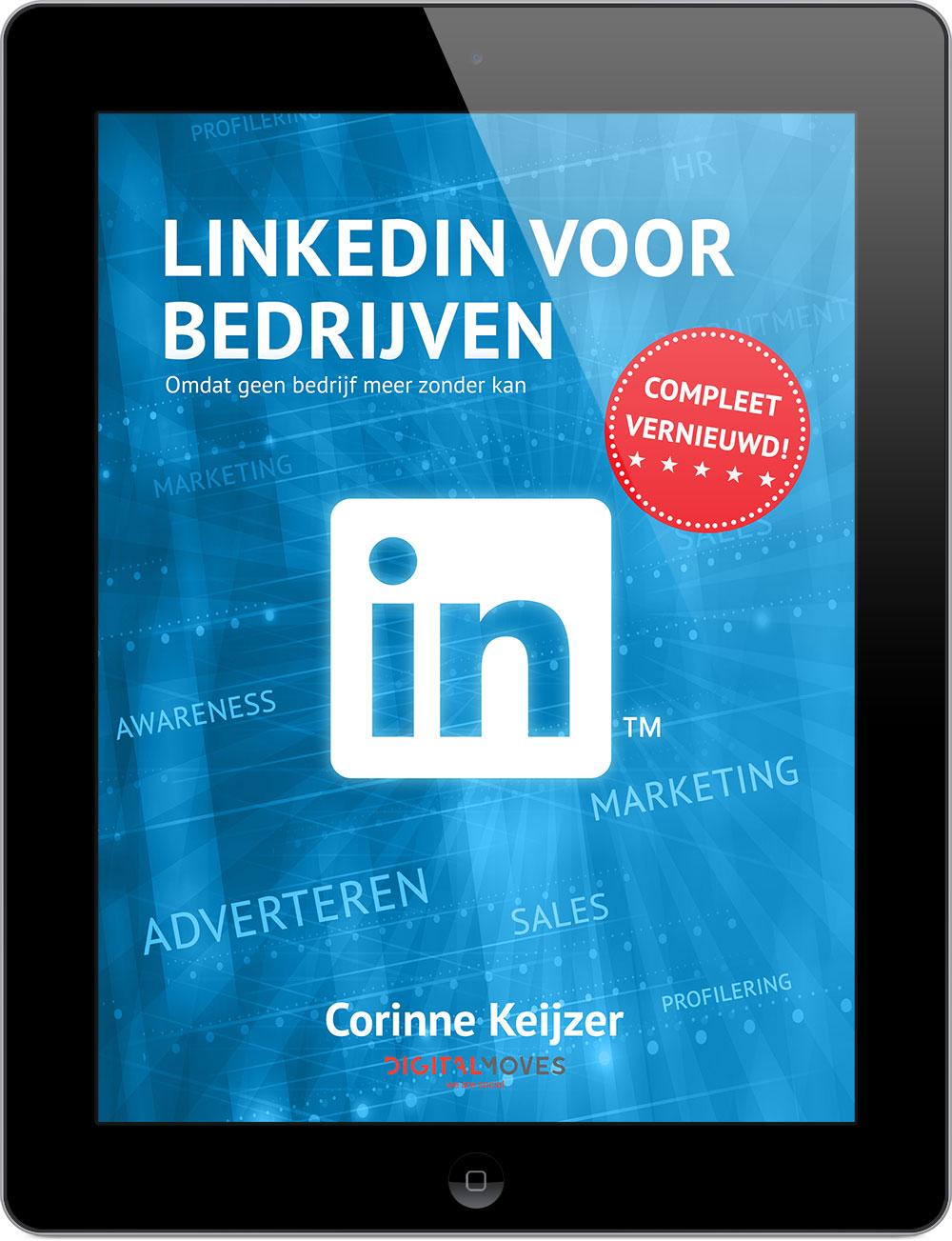 Corinne Keijzer - LinkedIn voor Bedrijven - EBOOK