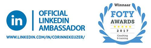Corinne Keijzer - Officieel Ambassadeur van LinkedIn